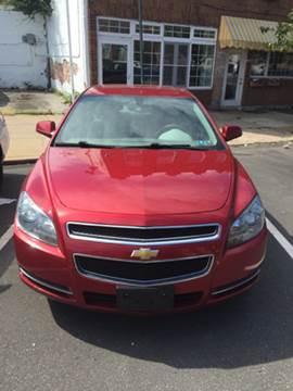 2012 Chevrolet Malibu for sale at K J AUTO SALES in Philadelphia PA