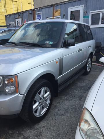 2005 Land Rover Range Rover for sale at K J AUTO SALES in Philadelphia PA