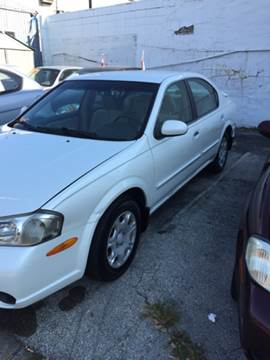 2000 Nissan Maxima for sale at K J AUTO SALES in Philadelphia PA