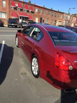 2008 Nissan Maxima for sale at K J AUTO SALES in Philadelphia PA