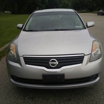 2008 Nissan Altima Hybrid for sale at K J AUTO SALES in Philadelphia PA