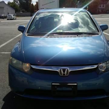2008 Honda Civic for sale at K J AUTO SALES in Philadelphia PA