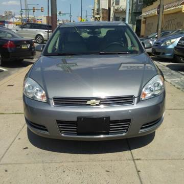 2007 Chevrolet Impala for sale at K J AUTO SALES in Philadelphia PA