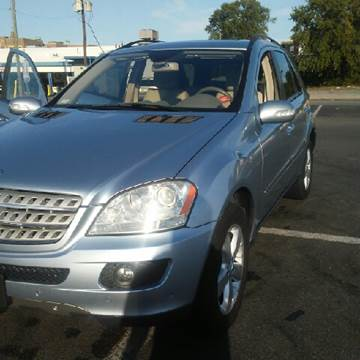 2007 Mercedes-Benz M-Class for sale at K J AUTO SALES in Philadelphia PA