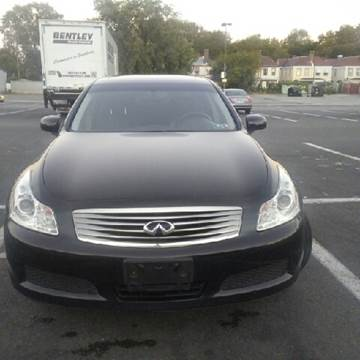 2007 Infiniti G35 for sale at K J AUTO SALES in Philadelphia PA