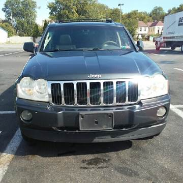 2006 Jeep Grand Cherokee for sale at K J AUTO SALES in Philadelphia PA