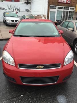 2008 Chevrolet Impala for sale at K J AUTO SALES in Philadelphia PA
