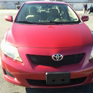 2009 Toyota Corolla for sale at K J AUTO SALES in Philadelphia PA