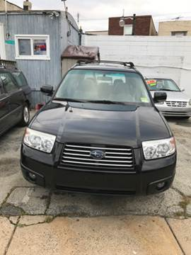 2007 Subaru Forester for sale at K J AUTO SALES in Philadelphia PA