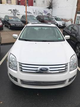 2009 Ford Fusion for sale at K J AUTO SALES in Philadelphia PA