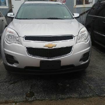 2010 Chevrolet Equinox for sale at K J AUTO SALES in Philadelphia PA