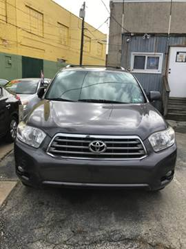 2009 Toyota Highlander for sale at K J AUTO SALES in Philadelphia PA