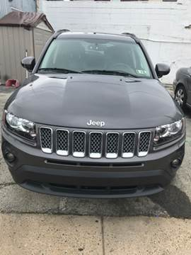 2016 Jeep Compass for sale at K J AUTO SALES in Philadelphia PA