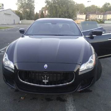 2014 Maserati Quattroporte for sale at K J AUTO SALES in Philadelphia PA