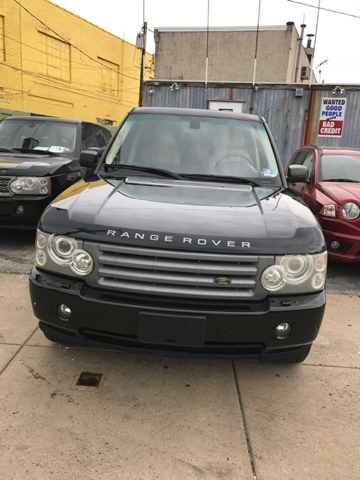 2006 Land Rover Range Rover for sale at K J AUTO SALES in Philadelphia PA