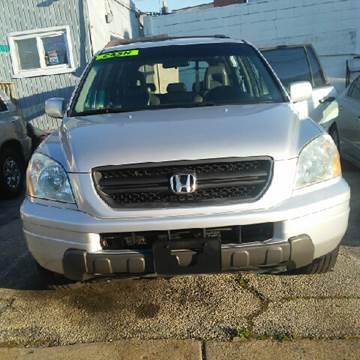 2003 Honda Pilot for sale at K J AUTO SALES in Philadelphia PA