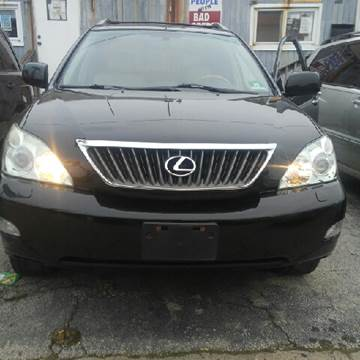 2008 Lexus RX 350 for sale at K J AUTO SALES in Philadelphia PA