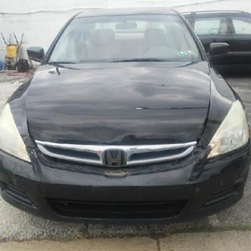 2006 Honda Accord for sale at K J AUTO SALES in Philadelphia PA