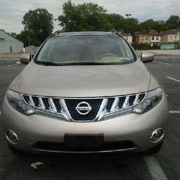 2009 Nissan Murano for sale at K J AUTO SALES in Philadelphia PA