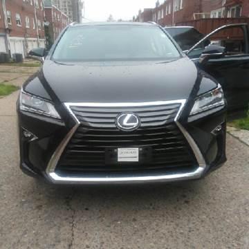 2016 Lexus RX 350 for sale at K J AUTO SALES in Philadelphia PA