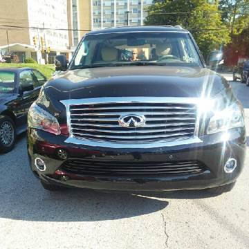 2014 Infiniti QX80 for sale at K J AUTO SALES in Philadelphia PA