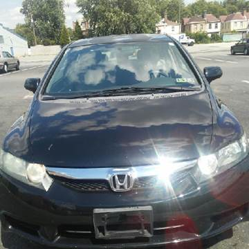 2009 Honda Civic for sale at K J AUTO SALES in Philadelphia PA