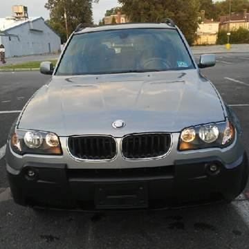 2005 BMW X3 for sale at K J AUTO SALES in Philadelphia PA