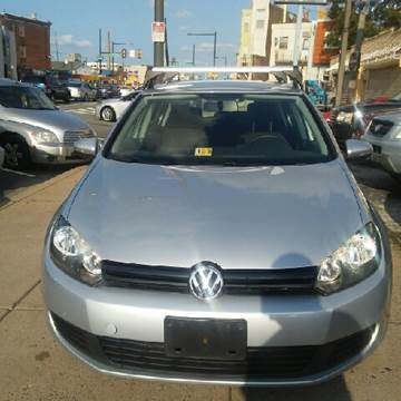 2012 Volkswagen Golf for sale at K J AUTO SALES in Philadelphia PA