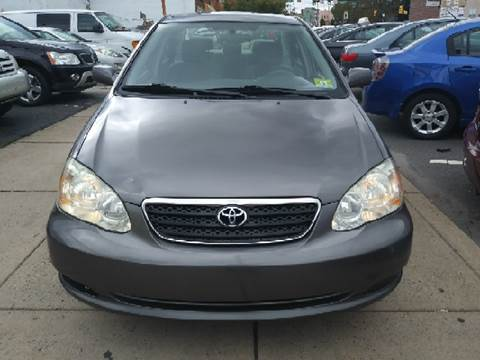 2007 Toyota Corolla for sale at K J AUTO SALES in Philadelphia PA