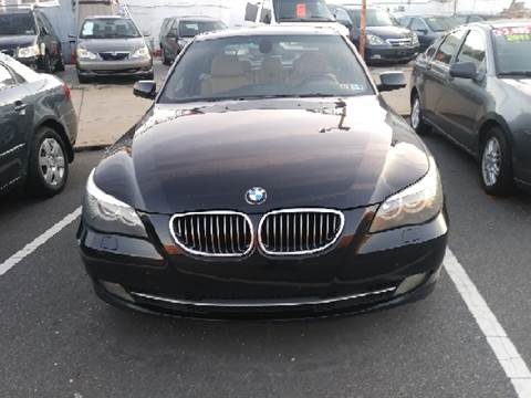 2008 BMW 5 Series for sale at K J AUTO SALES in Philadelphia PA