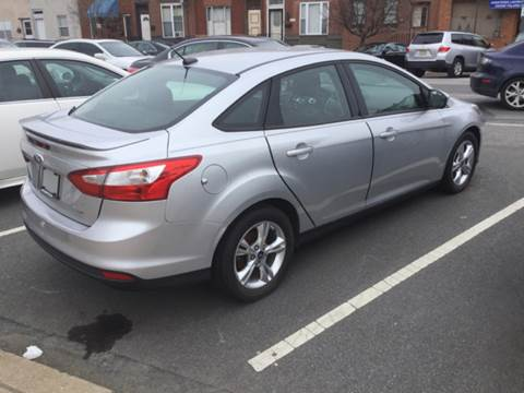 2012 Ford Focus for sale at K J AUTO SALES in Philadelphia PA