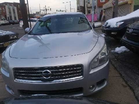 2009 Nissan Maxima for sale at K J AUTO SALES in Philadelphia PA