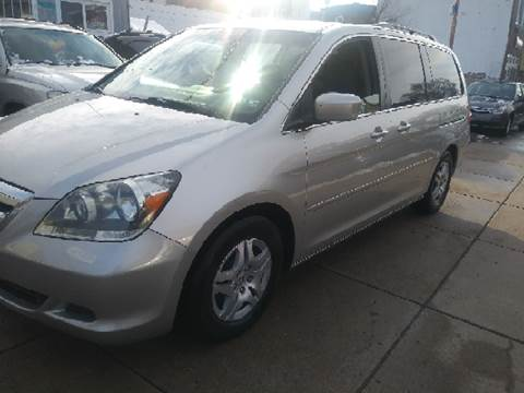 2007 Honda Odyssey for sale at K J AUTO SALES in Philadelphia PA