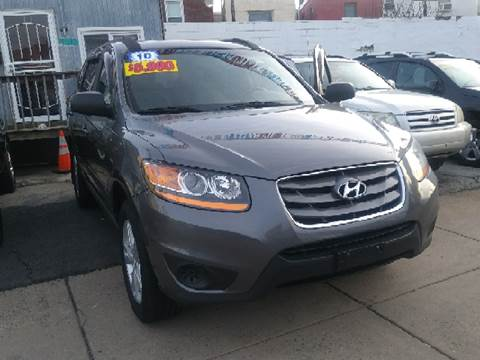 2010 Hyundai Santa Fe for sale at K J AUTO SALES in Philadelphia PA