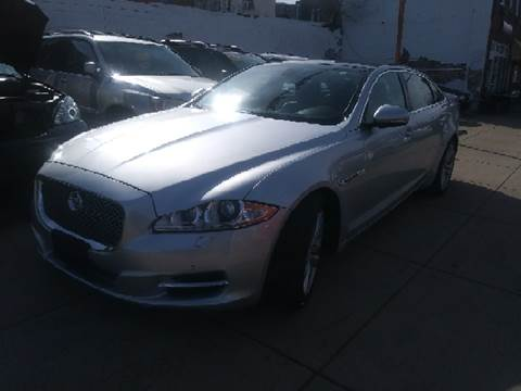 2012 Jaguar XJL for sale at K J AUTO SALES in Philadelphia PA