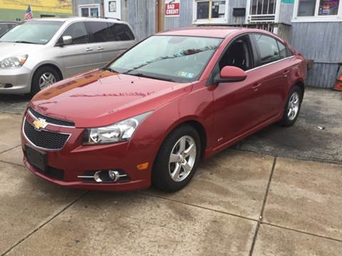 2013 Chevrolet Cruze for sale at K J AUTO SALES in Philadelphia PA