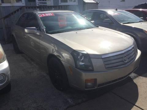 2003 Cadillac CTS for sale at K J AUTO SALES in Philadelphia PA