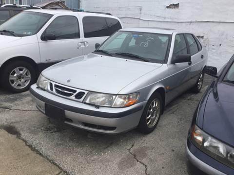2000 Saab 9-3 for sale at K J AUTO SALES in Philadelphia PA