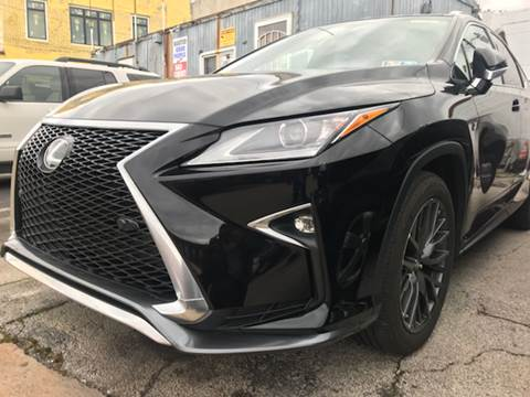 2016 Lexus RX 350 for sale at K J AUTO SALES in Philadelphia PA