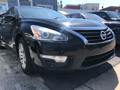 2014 Nissan Altima for sale at K J AUTO SALES in Philadelphia PA