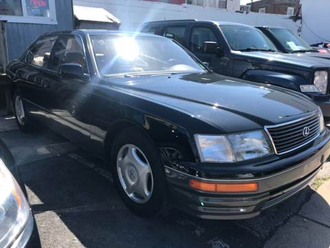 1997 Lexus LS 400 for sale at K J AUTO SALES in Philadelphia PA