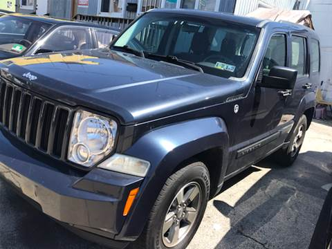 2008 Jeep Liberty for sale at K J AUTO SALES in Philadelphia PA