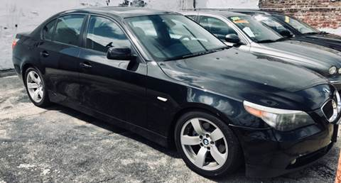2007 BMW 5 Series for sale at K J AUTO SALES in Philadelphia PA