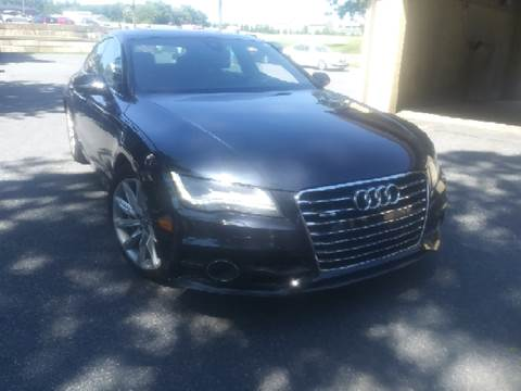2013 Audi A7 for sale at K J AUTO SALES in Philadelphia PA