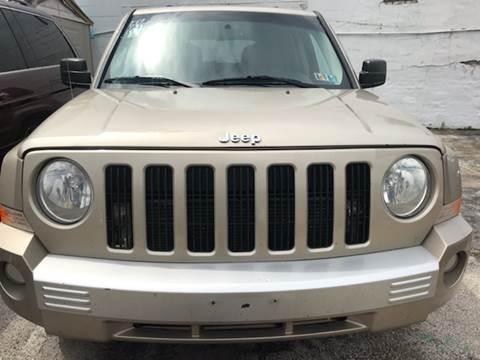2010 Jeep Patriot for sale at K J AUTO SALES in Philadelphia PA