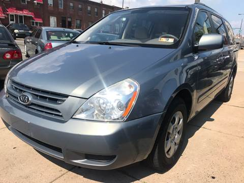 2009 Kia Sedona for sale at K J AUTO SALES in Philadelphia PA