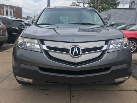 2008 Acura MDX for sale at K J AUTO SALES in Philadelphia PA
