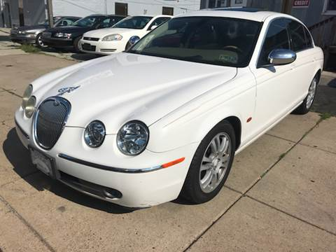 2005 Jaguar S-Type for sale at K J AUTO SALES in Philadelphia PA
