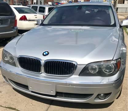 2008 BMW 7 Series for sale at K J AUTO SALES in Philadelphia PA