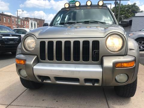 2003 Jeep Liberty for sale at K J AUTO SALES in Philadelphia PA